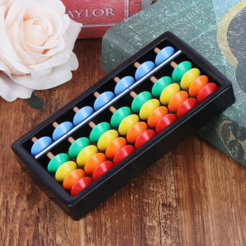 Chinese Abacus Arithmetic Soroban Maths Calculating Tools Kids Educational Toy
