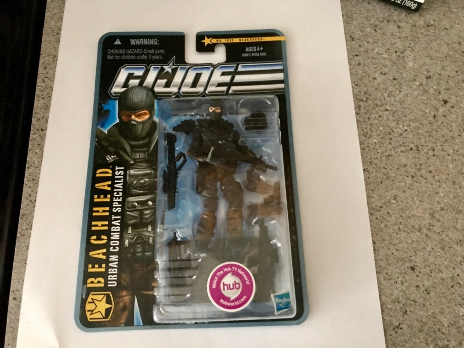 G. I. Joe P.O.C. Beachhead NEW UNOPENED