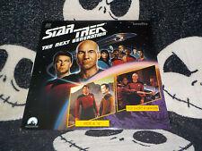 Star Trek TNG Hide & Q +Too Short A Season Laserdisc LD Free Ship $30 Orders