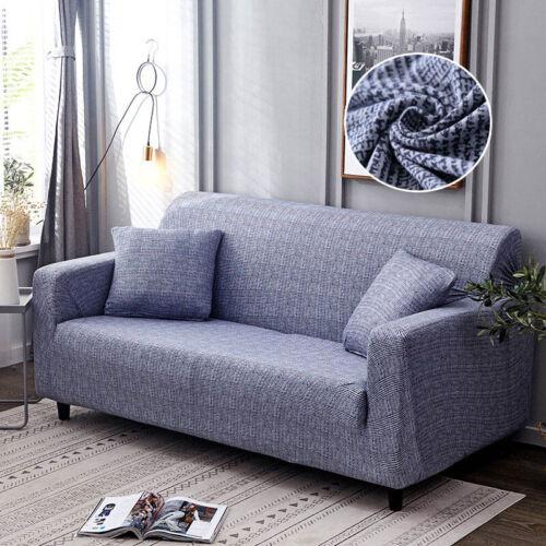 FUNDA SOFA ELASTICA Sofa Cover Cotton Elastic All-inclusive Chair Corner Couch