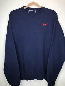 Details about Vintage Nike Crewneck Sweatshirt Mens