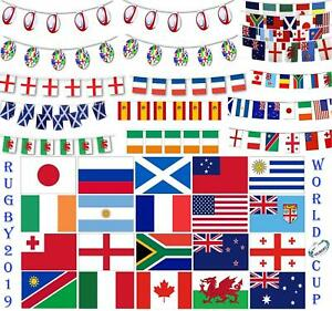 Decorations-For-2019-World-Cup-Rugby-Teams-Country-National-Flags-Bunting-Sports