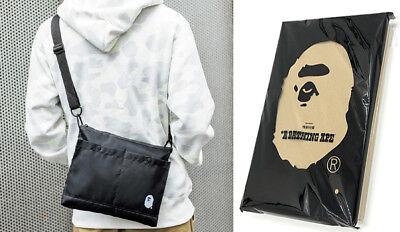WINTER COLLECTION A Bathing Ape Bape Shoulder Bag Messenger Bag 2017 AUTUMN