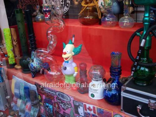 Photo Bongs For Sale In Shop Window 2000s