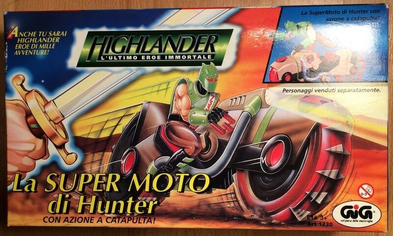 PRIME TIME TOYS HIGHLANDER THE ANIMATED SERIES HUNTERS POWERCYCLE 1996 MISB