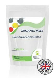 MSM-Methylsulphonylmethane-1000mg-30-Tablets-Pills-Supplements