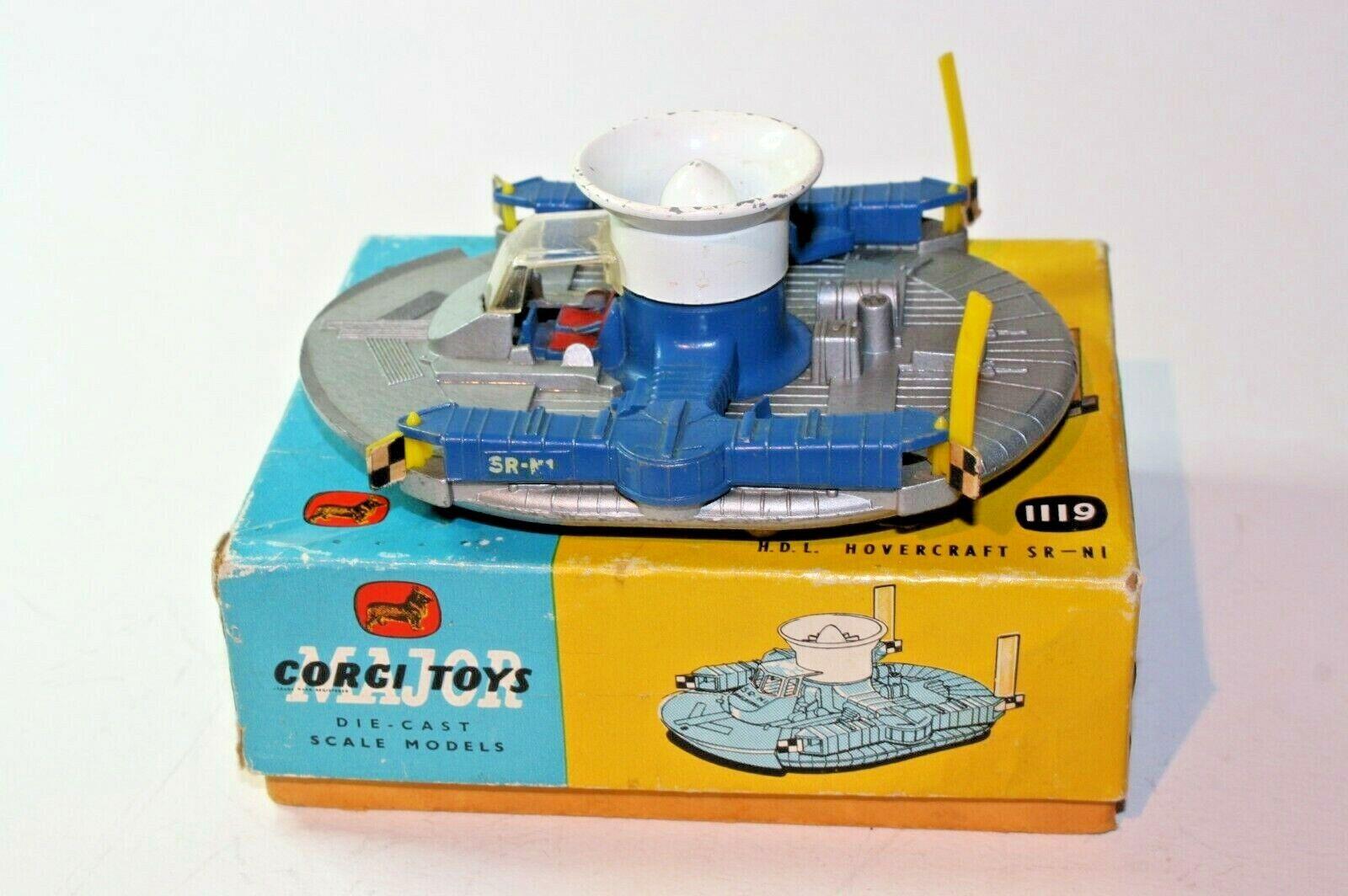 Corgi 1119 HDL Hovercraft, Good Condition in Original Box