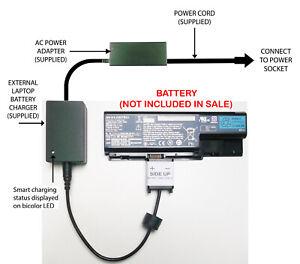 ACER Aspire A515-51-55A5 Compatibile Laptop Dc Power Adattatore Caricabatteria da auto
