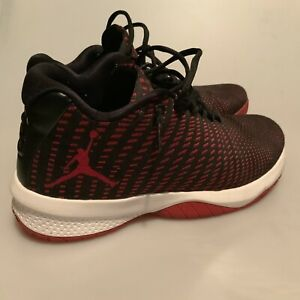 new concept a3e62 f8e77 Image is loading Air-Jordan-B-Fly-Basketball-Shoes-Black-Gym-
