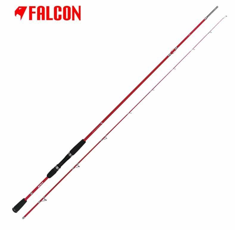 D0900300 D0900300 D0900300 Canna Falcon Pepper Egi 2,40 m Pesca Eging Seppia Calamaro  RN b2482f