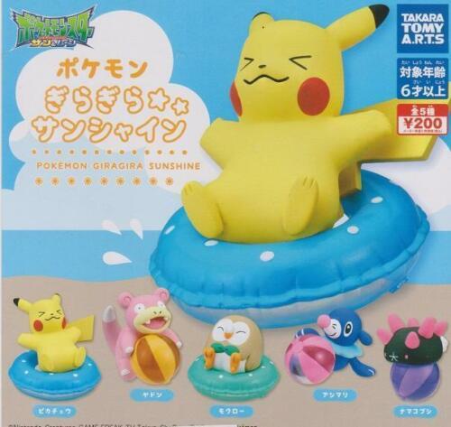 Takara Sun /& Moon Pokemon Giragira Sunshine Sparkle Pikachu US seller New NIP