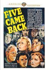 Five Came Back DVD (1939) - Chester Morris, Lucille Ball, John Farrow
