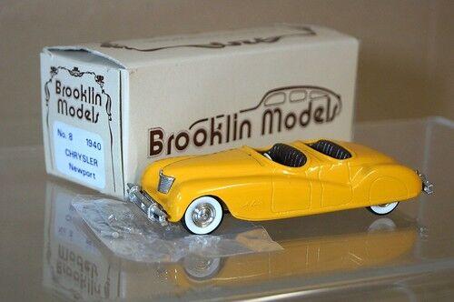Brooklin Modèles 8 1941 Chrysler Newport Convertible MIB Mq