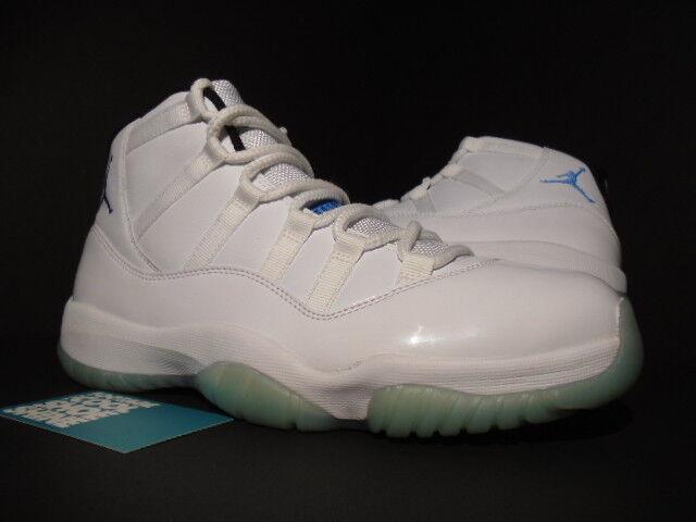 Nike air jordan xi 11 retro - weiße legende columbia 378037-117 blau - schwarz unc 378037-117 columbia 8,5 68d0bf