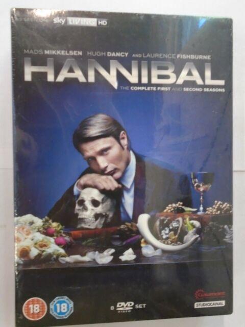 Hannibal - Season Series 1-2 (DVD) NEW & SEALED, H3