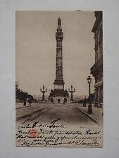 Ansichtskarte Brüssel /Bruxelles, Colonne du Congrés, Echtfoto 1906 nach Berlin
