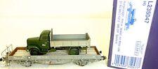 SBB Rungenwagen Kms w Saurer Militär LKW EpIV Liliput L235047 H0 1:87 OVP HF6 µ