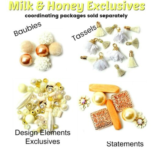 White Label Collection Baubles MILK /& HONEY Beads Jesse James Beads Bubbles