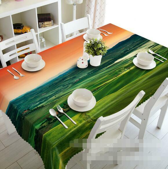 3D Farm Sky 51 Tablecloth Table Cover Cloth Birthday Party Event AJ WALLPAPER AU