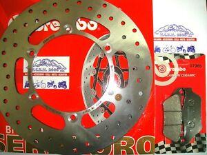 DISCO FRENO BREMBO+PASTIGLIE ANTERIORI YAMAHA X-CITY 125 2008 2009 2010 2011 7E6