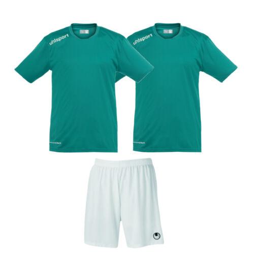 3er uhlsport Active Sportset Essential Shirts und Basic Shorts