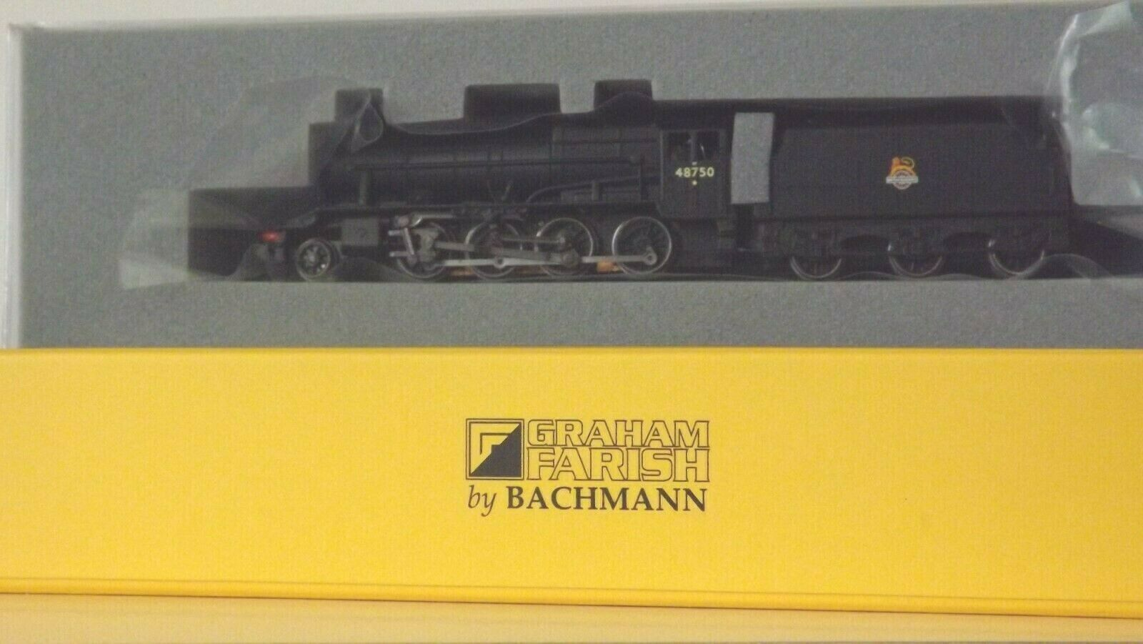 GRAHAM FARISH by BACHMANN N  CLASS '  8F .  2-8-0.  B.R.  EARLY  CREST.  NEW.