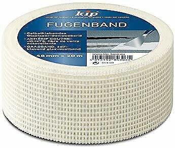 10x Kip Tape 843-03 fugenband fibre optique adhesif pour plaque de plâtre auto-adhésif
