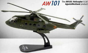 JAMES BOND 007 SKYFALL AGUSTA WESTLAND HELICOPTER COLLECTABLE 1/100 SCALE MODEL