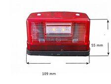 LED Kennzeichenbeleuchtung Nummernschildbeleuchtung Weiß + Rot  12/24V Nr 247