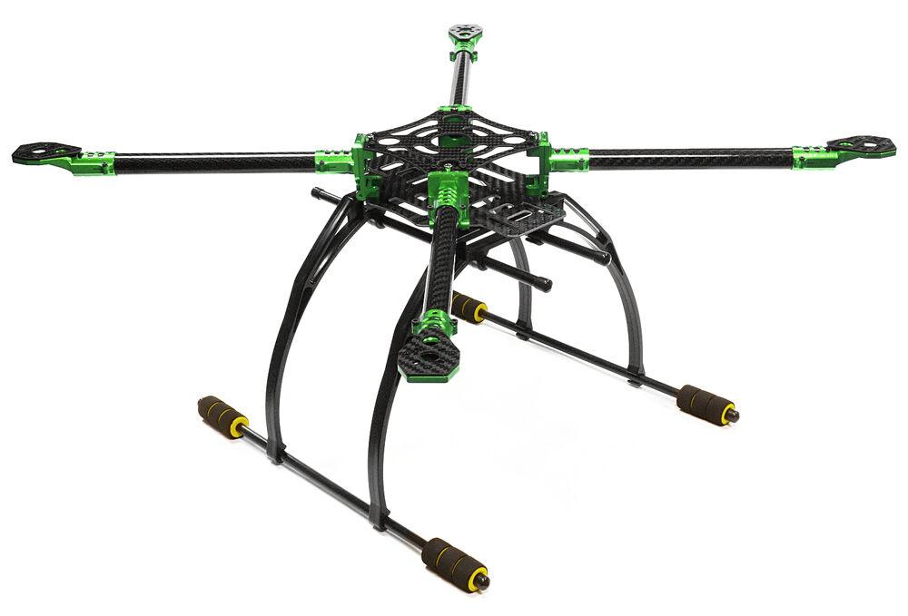 Integy C25864verde tuttioy+autobon Fiber Quadcopter  Upgrade Frame 550 Dimensione Foldable  la migliore offerta del negozio online