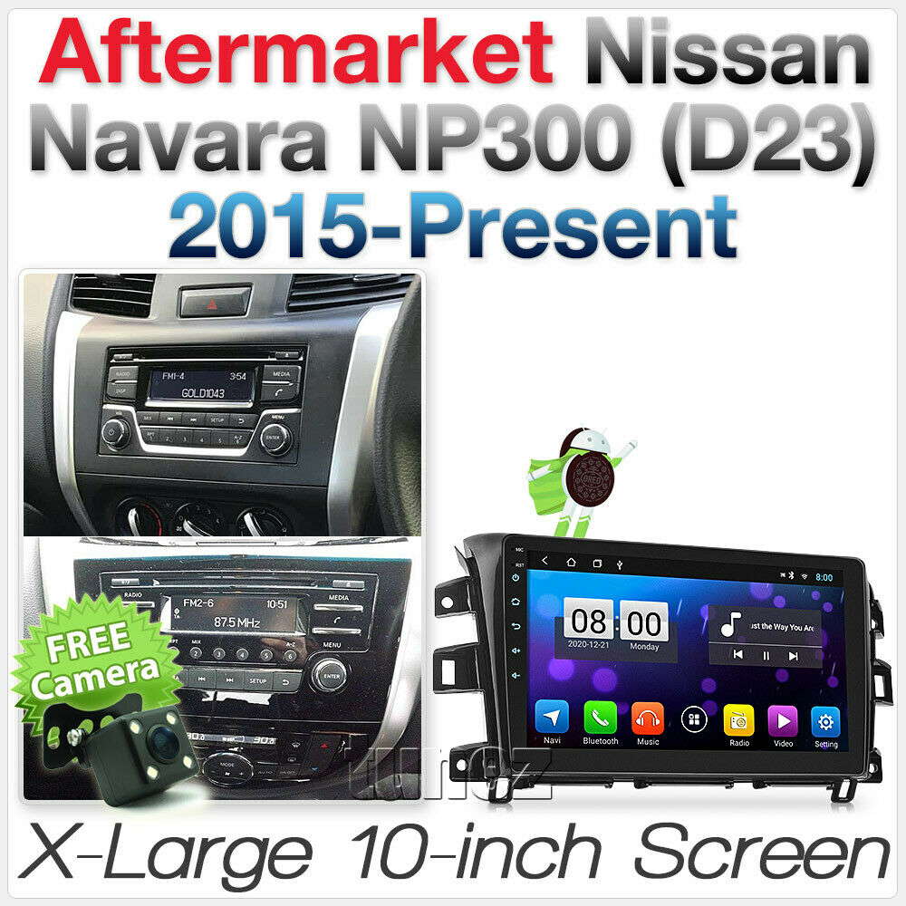 "10"" Android Car MP3 Player For Nissan Navara D23 RX DX Radio Stereo MP4 GPS OZ"