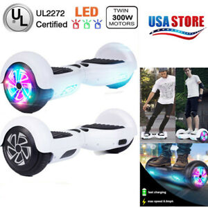 Hoverboard-UL-Certified-6-5-034-Self-Balancing-Electric-Scooter-Scooters-no-BAG