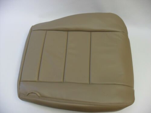 2003 Ford F-250 F-350 Lariat Diesel or Gas Driver Bottom Leather Seat Cover Tan