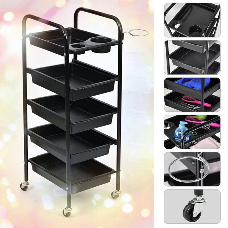"32"" Beauty Salon Spa Styling Station Trolley Equipment Ro..."