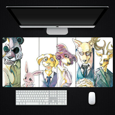 Anime BEASTARS Legoshi Haru Large Mouse pad Play Mat Mice Pad Keyboard Mat Gifts