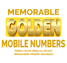 Easy Memorable Mobile Numbers Gold O2 Vodafone Ee Three Pay As You Go Sim Card For Sale Ebay