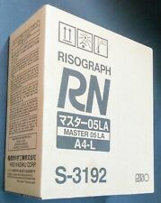 New OEM S-3192 RISO RN 05LA MASTER A4-L