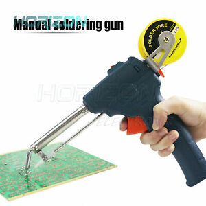 220V 60W Electric Soldering Iron Manual Welding Heated External Soldering Tool