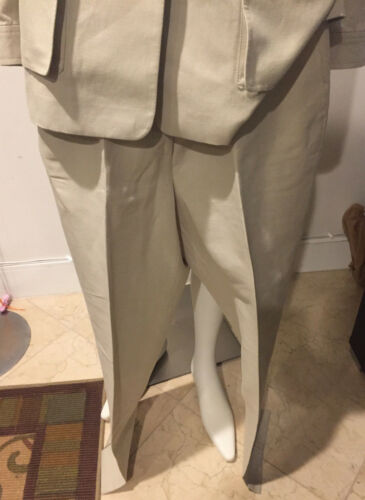 Louis Jacket And 10 Size Silk Pant Feraud Preowned Beige Minhar pwdvxUUq