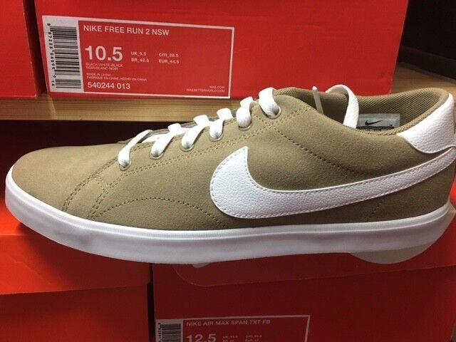 Nike Khaki-Weiß Eastham Neu Gr:41 Neu Khaki-Weiß Nike Canvas Mesh  Sneaker Sportschuhe US:8 2526bc