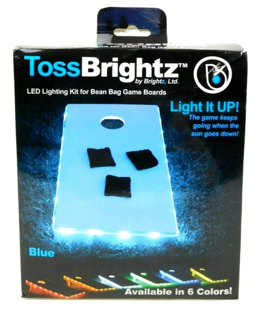 Lights Only, No ... Brightz TossBrightz Cornhole//Bean Bag Game LED Lighting Kit