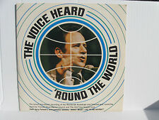 "JERRY FALWELL: Voice Heard 'Round the World ""What Must I Do To Be Saved vinyl LP"