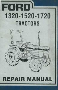 ford tractor 1320 1520 1720 workshop service manual ebay rh ebay co uk ford 1720 service manual 345D Ford Tractor Loader