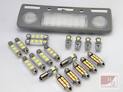 PREMIUM MAX INTERIOR LED SMD Bulbs KIT WHITE CAN BUS fit BMW E39