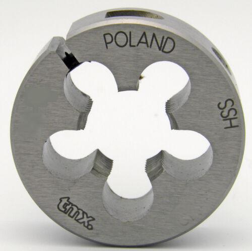"""5//8-27 Round Adjustable Split Threading Die 1-1//2/"""" OD Toolmex #5-807-231"""