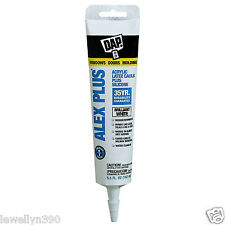 DAP Alex Plus Acrylic Latex Caulk plus Silicone 18128 NEW!