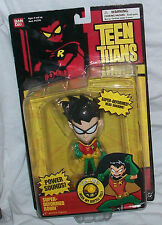"TEEN TITANTS SUPER DEFORMED ROBIN 5"" ACTION FIGURE WITH POWER SOUNDS 2003"