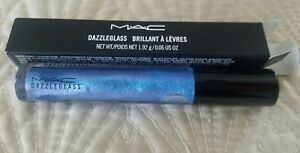 2824103dc76a24 Image is loading MAC-Dazzleglass-COMET-BLUE-Lip-Gloss-Authentic-Global-