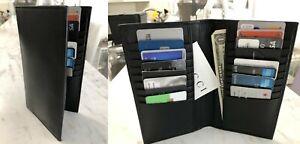 Calvin-Klein-Collection-Men-039-s-Bifold-Calfskin-Long-Pocket-Wallet-Made-in-Italy