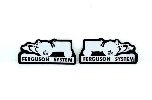 Die Ferguson System Aufkleber für Massey Ferguson 35 65 135 Tractors Hochwertig